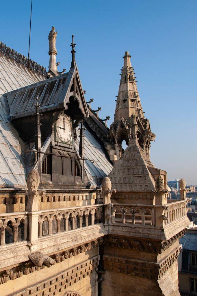 Horloge de Notre-Dame © Photo Bruno Cabanis - Association Horloge Notre-Dame