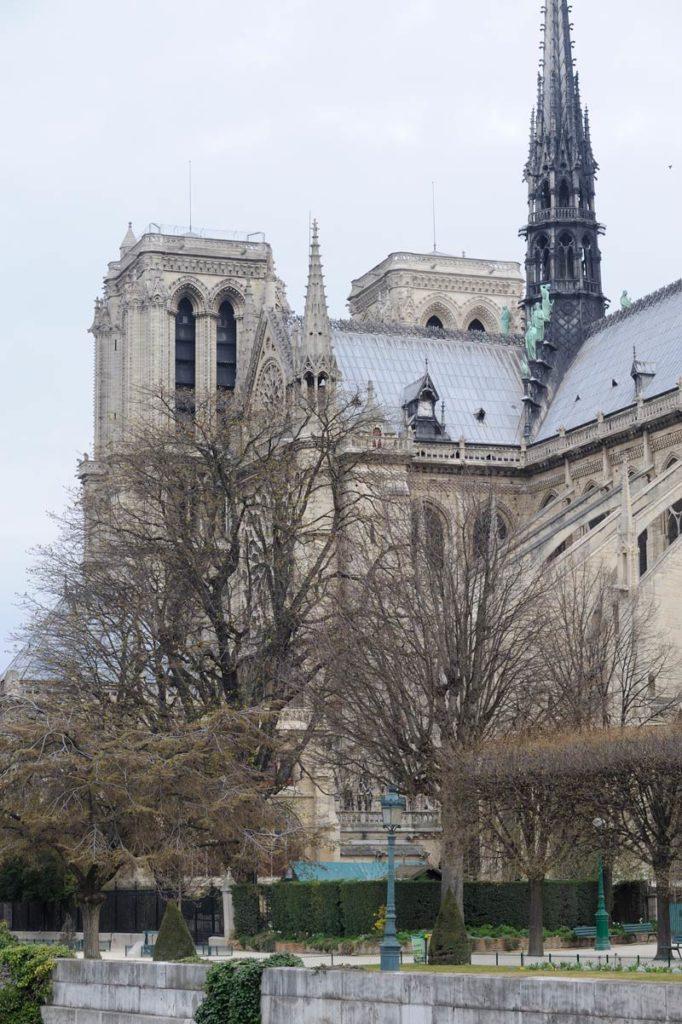 Notre-Dame de Paris © Photo Bruno Cabanis - Association Horloge Notre-Dame